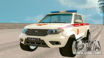 UAZ Pickup (Regardie) for GTA San Andreas