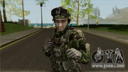 Bulgarian Land Forces (Fbi) for GTA San Andreas