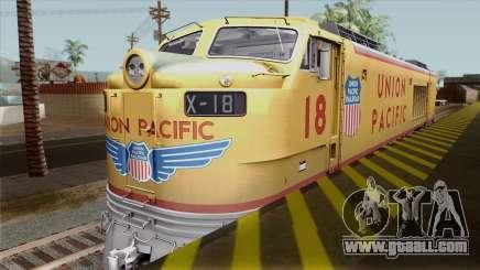 Union Pacific 8500 HP Gas Turbine Locomotive for GTA San Andreas