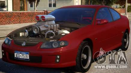 Holden Monaro Supercharged for GTA 4