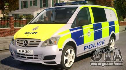 Mercedes-Benz Vito Police V.1.2 for GTA 4