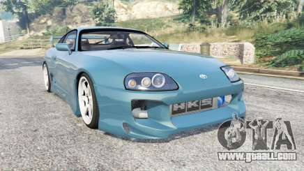 Toyota Supra Turbo (JZA80) v1.5 [replace] for GTA 5