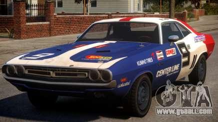 Dodge Challenger 1971 PJ8 for GTA 4