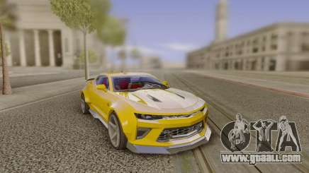 Chevrolet Camaro SS Customized by Alfa Six Des for GTA San Andreas
