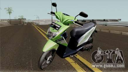 Honda BeAT FI Green STD for GTA San Andreas