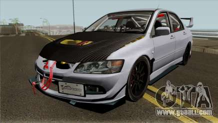 Mitsubishi Evolution Tuning Mod for GTA San Andreas
