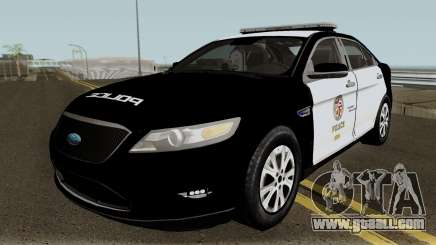 Ford Taurus LAPD 2011 for GTA San Andreas