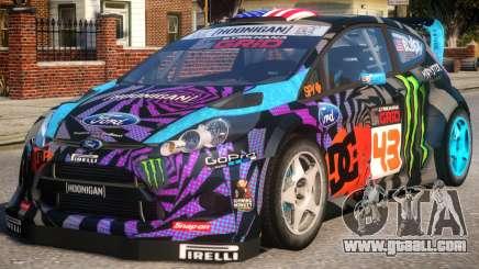 Ford Fiesta Gymkhana for GTA 4
