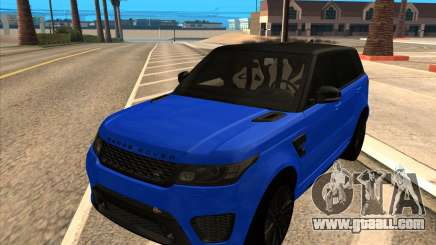 Range Rover SVR for GTA San Andreas