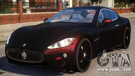 Maserati Gran Turismo v1.0 for GTA 4