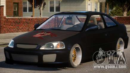 Honda Civic EA Tuned for GTA 4