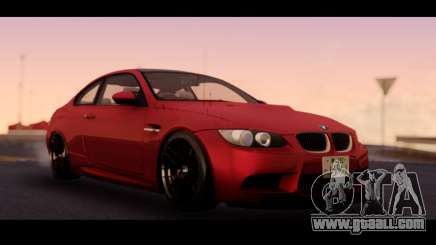 BMW 3-er M3 E92 for GTA San Andreas