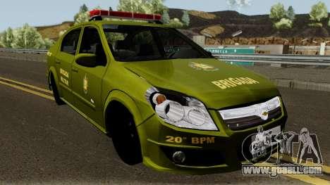 Chevrolet Vectra Elite Brigada Militar for GTA San Andreas
