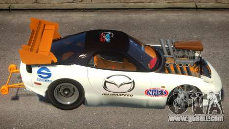 Mazda RX7 Dragster PJ for GTA 4