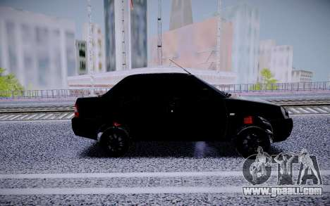 Lada Priora Black Edition for GTA San Andreas