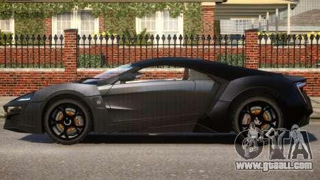 Lykan HyperSport V1.2 for GTA 4 left view