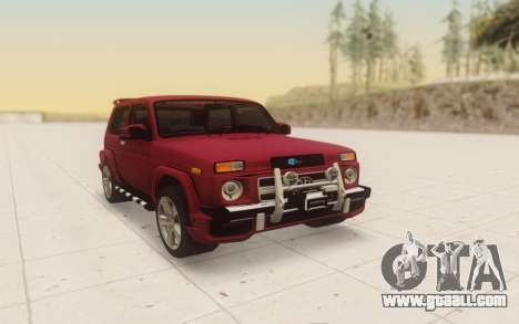 Niva 2121 Urban for GTA San Andreas back view