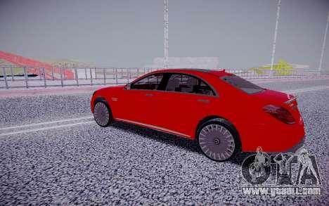 Mercedes-Benz S63 W222 GAD for GTA San Andreas
