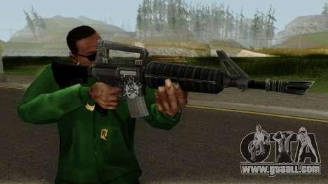 Fortnite M16 for GTA San Andreas