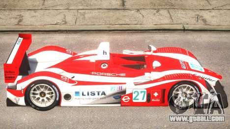 Porsche RS Spyder PJ3 for GTA 4