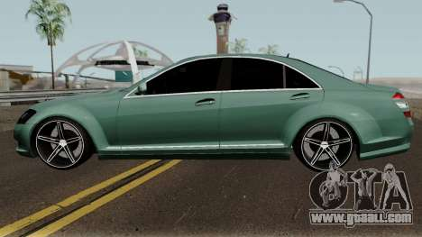 Mercedes-Benz S500 Vossen for GTA San Andreas left view