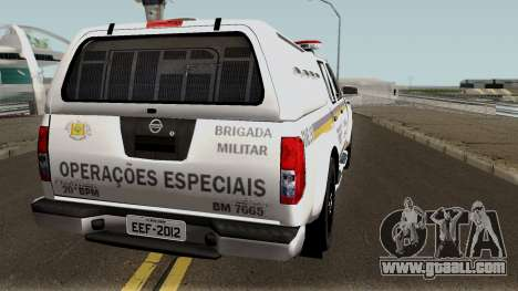 Nissan Frontier Brazilian Police for GTA San Andreas