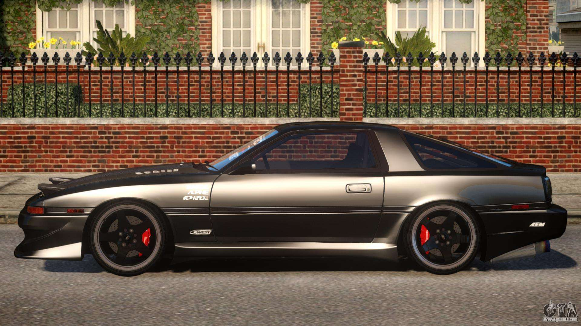 1992 toyota supra 3 0 turbo pj5 for gta 4. Black Bedroom Furniture Sets. Home Design Ideas