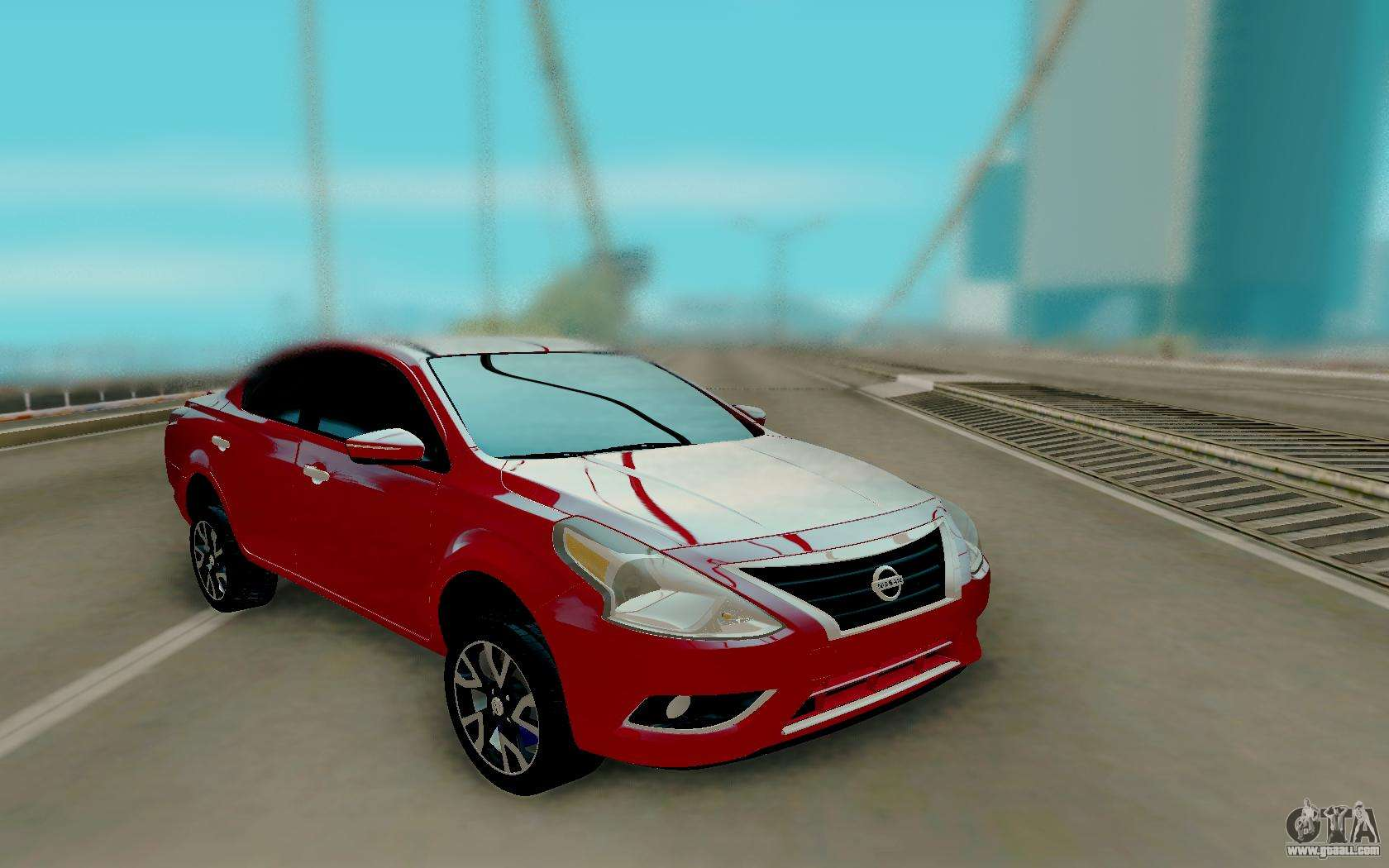 nissan versa sedan 2015 for gta san andreas. Black Bedroom Furniture Sets. Home Design Ideas