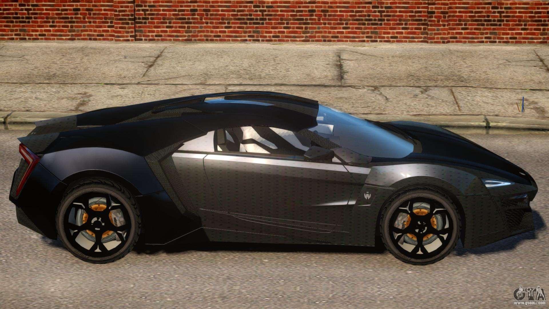 Lykan HyperSport V1 2 for GTA 4