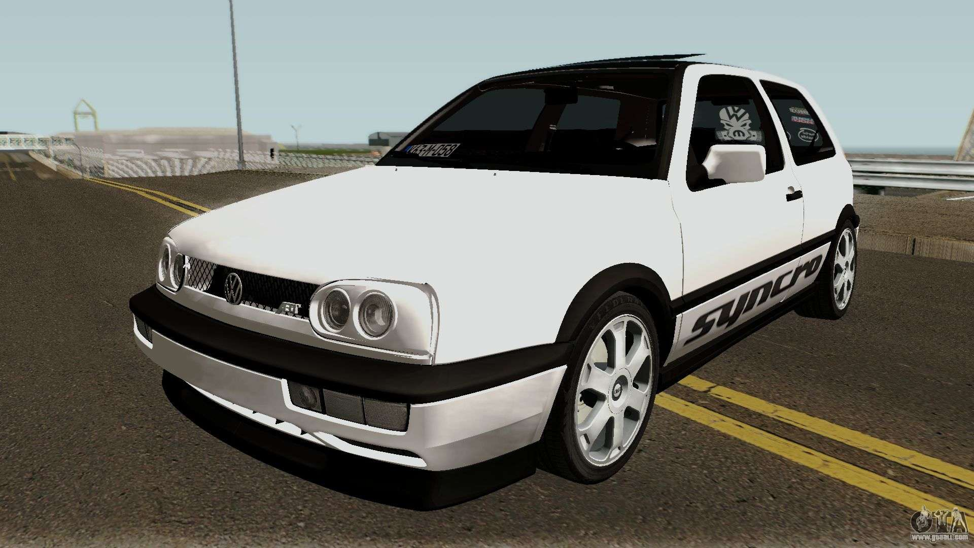 volkswagen golf 3 abt vr6 turbo syncro for gta san andreas. Black Bedroom Furniture Sets. Home Design Ideas