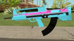 GTA Online Bullpup Rifle mk.2 Blue for GTA San Andreas