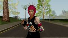 Guitarrista (Rockgirl) From Fortnite for GTA San Andreas