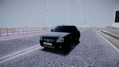 Lada Priora Black Edition for GTA San Andreas