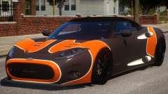 Spyker C8 Aileron Spyder PJ2 for GTA 4