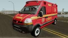 Renault Master Brazilian Ambulance  for GTA San Andreas