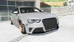 Audi RS 4 Avant (B8) 2013 LibertyWalk [replace] for GTA 5