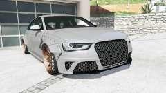 Audi RS 4 Avant (B8) 2013 LibertyWalk [replace]