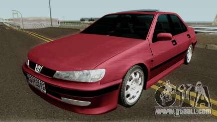 Peugeot 406 Stock MQ for GTA San Andreas