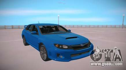 Subaru Impreza WRX STi 2011 Blue for GTA San Andreas