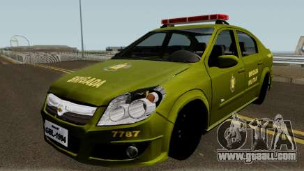 Chevrolet Vectra Elite Brigada Militar for GTA San Andreas
