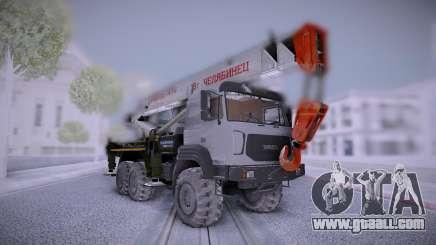 Ural M Crane Uralspetstrans for GTA San Andreas