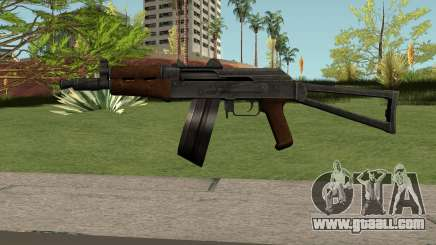 AKS74U HQ for GTA San Andreas