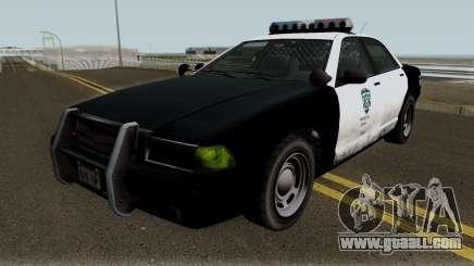 Police Stanier R.P.D. GTA V for GTA San Andreas