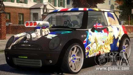 Mini Cooper S V8 Itasya for GTA 4