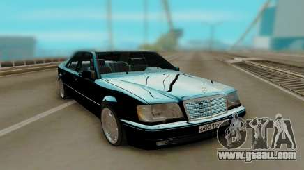 Mercedes-Benz W124 E500 Black for GTA San Andreas