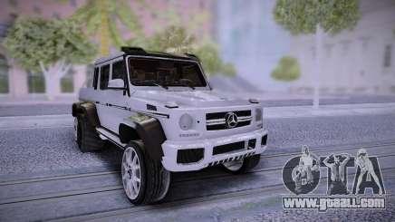 Mercedes-Benz G65 6X6 for GTA San Andreas