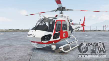 Helibras AS350 B2 Policia Militar [add-on] for GTA 5