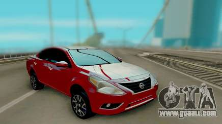 Nissan Versa Sedan 2015 for GTA San Andreas