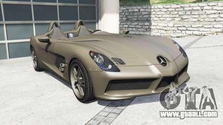 Mercedes-Benz SLR McLaren (Z199) 2009 [replace] for GTA 5