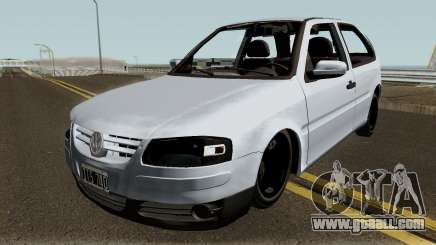 Volkswagen Gol G4 Grey for GTA San Andreas
